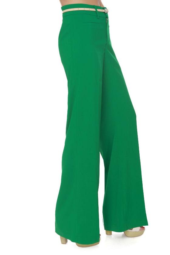Cool Atmosphere Green Pants