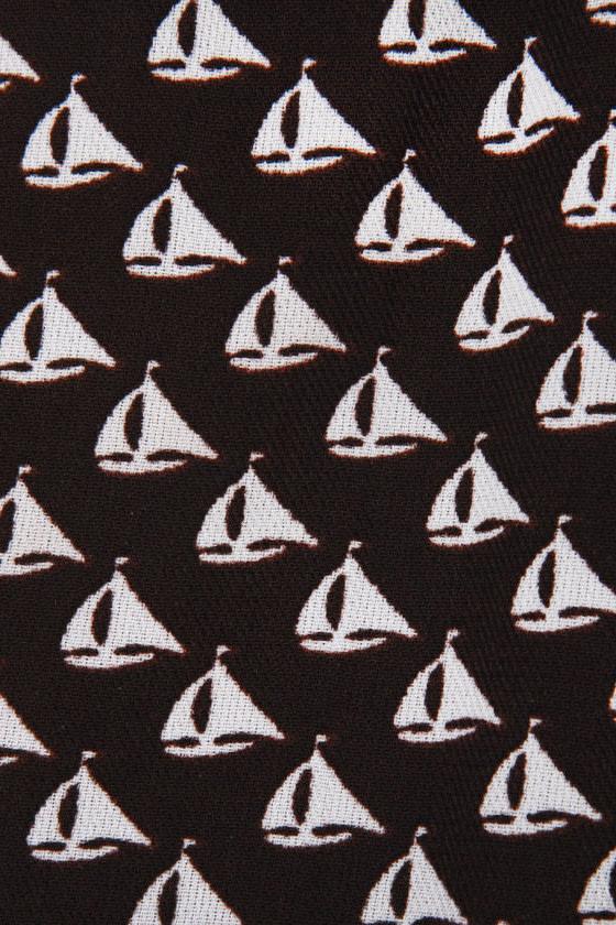 Sailboat Photography Black Shorts