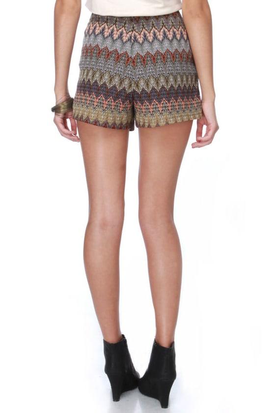 Fire Walker Knit Shorts