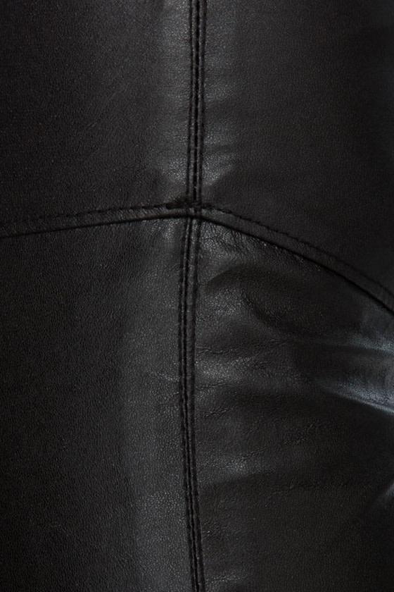 Blank NYC Fierce Black Vegan Leather Leggings