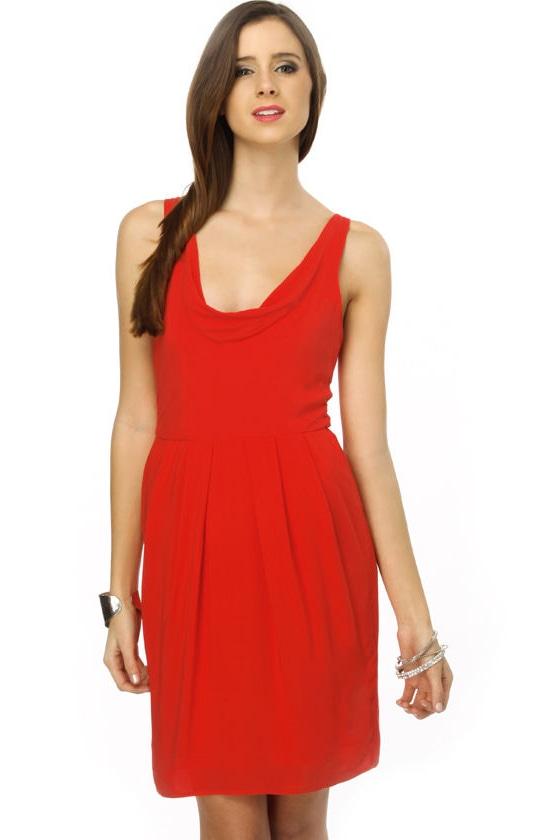 BB Dakota Terry Red Dress