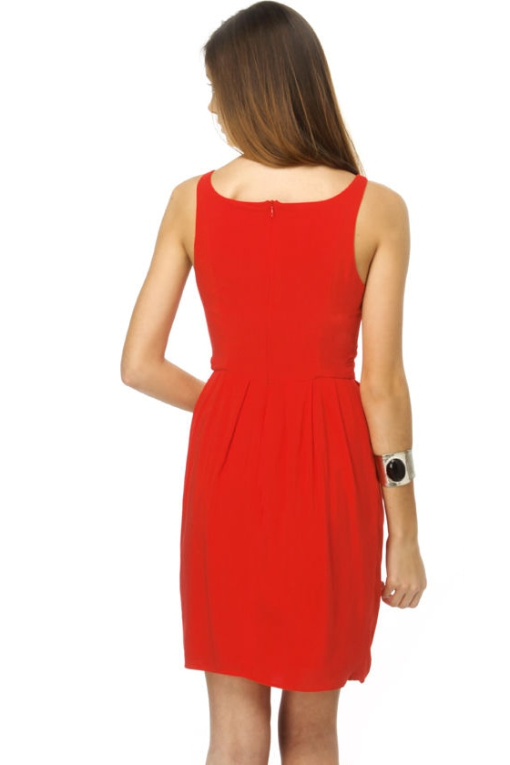 BB Dakota Terry Red Dress