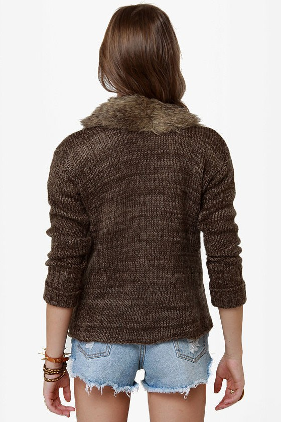 BB Dakota by Jack Gill Brown Sweater at Lulus.com!