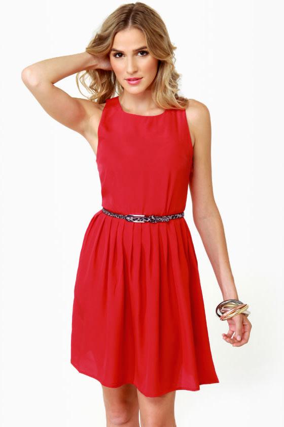 BB Dakota by Jack Rhetta Red Dress