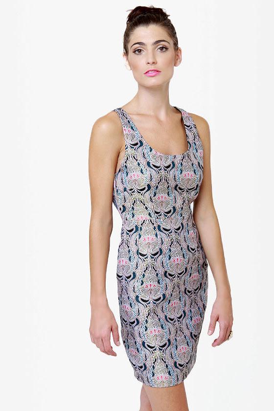 BB Dakota by Jack Carla Brocade Dress