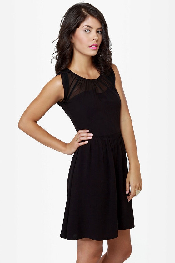 BB Dakota by Jack Vickie Black Dress at Lulus.com!