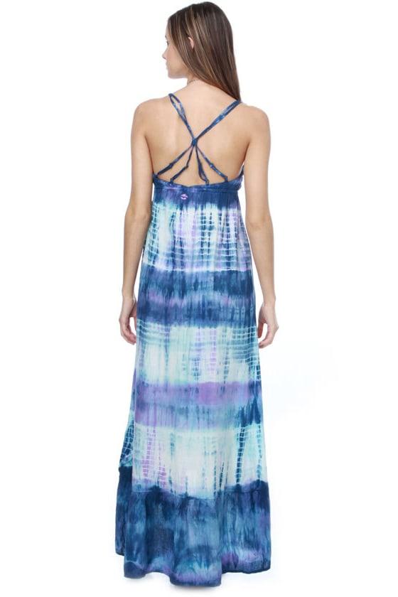 Billabong Maxine Tie-Dye Maxi Dress
