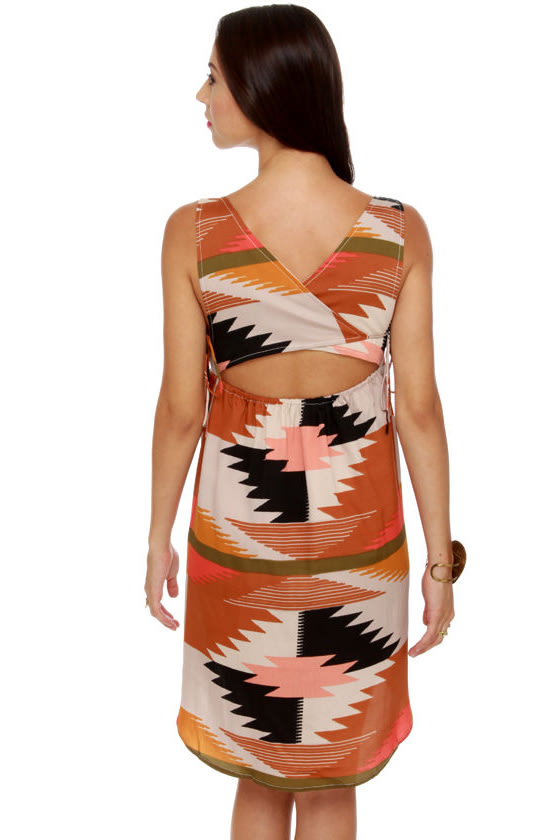 Billabong Indian Summer Print Dress at Lulus.com!