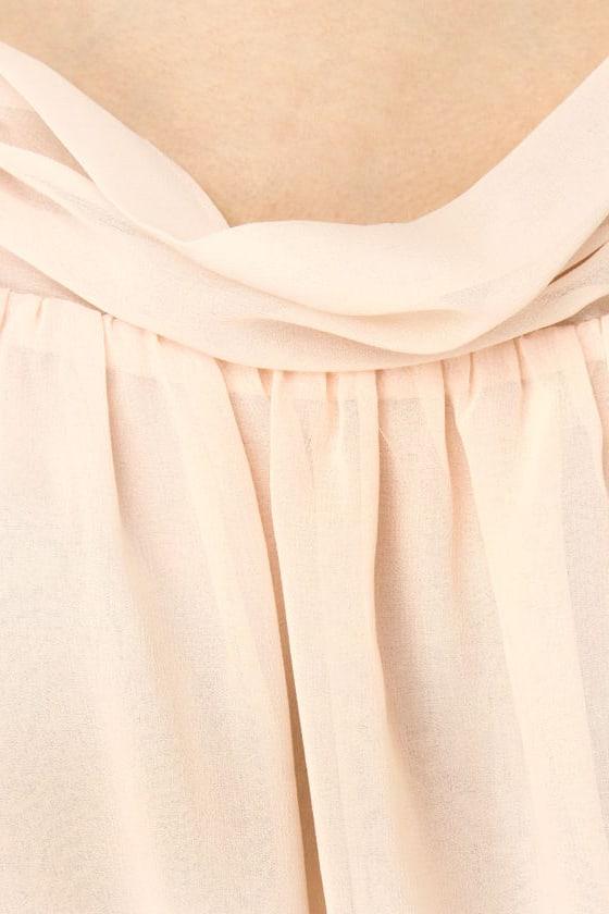 Petal Dancer Blush Pink Top