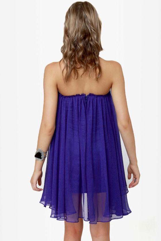 Blaque Label Anthology Strapless Royal Blue Dress at Lulus.com!