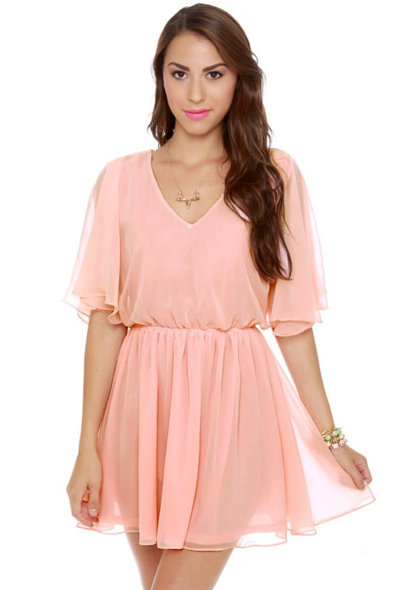 Blaque Label Lemonade Stand Pink Dress at Lulus.com!