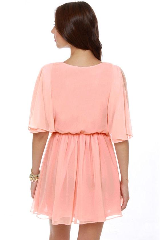Blaque Label Lemonade Stand Pink Dress