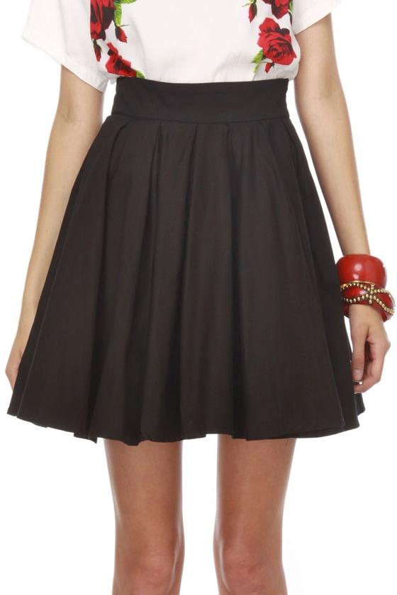 Blaque Label Curious Cupcake Black Mini Skirt