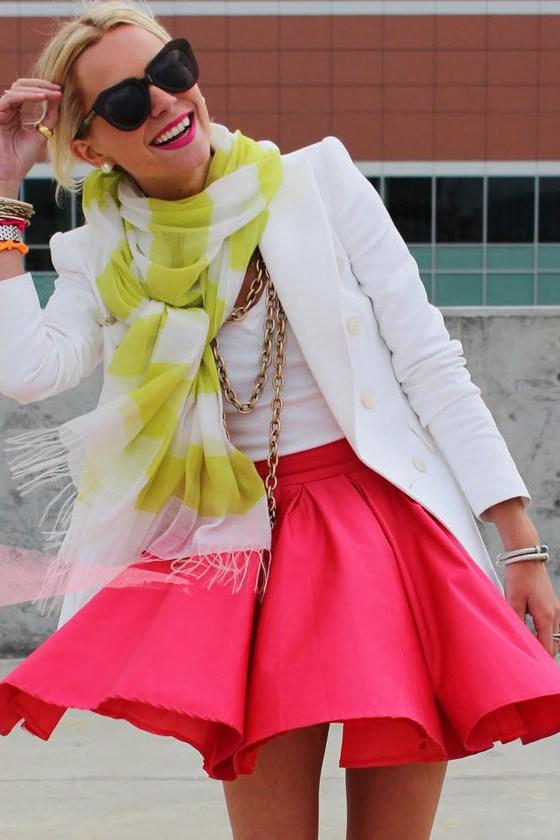 Blaque Label Curious Cupcake Fuchsia Mini Skirt