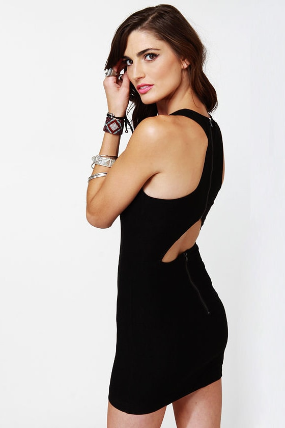 LULUS Exclusive Going Back to Cali Black Dress at Lulus.com!