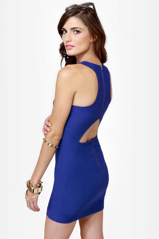 Going Back to Cali Royal Blue Dress