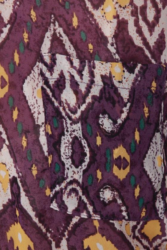 Collective Concepts South of Santa Fe Print Dress
