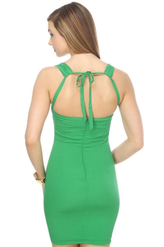 Luck o' the Irish Green Dress