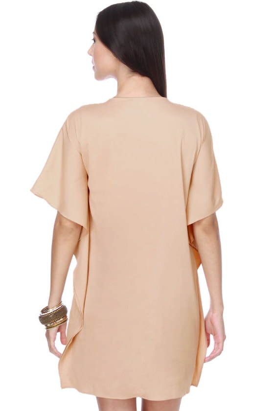 Hiawatha's Darling Dusty Peach Dress