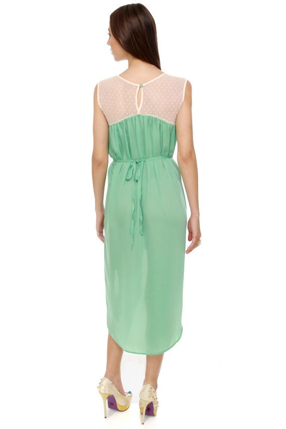 Woodland Frolic Mint Green Dress at Lulus.com!