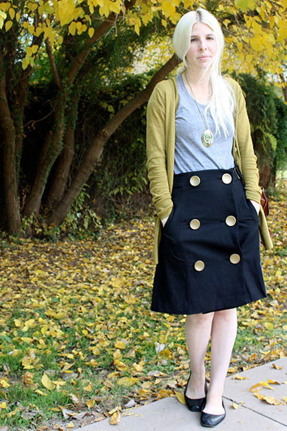 Forever and a Day Black Skirt