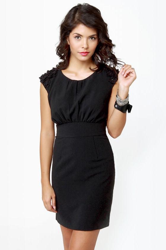 Darling Chantelle Sleeveless Black Dress