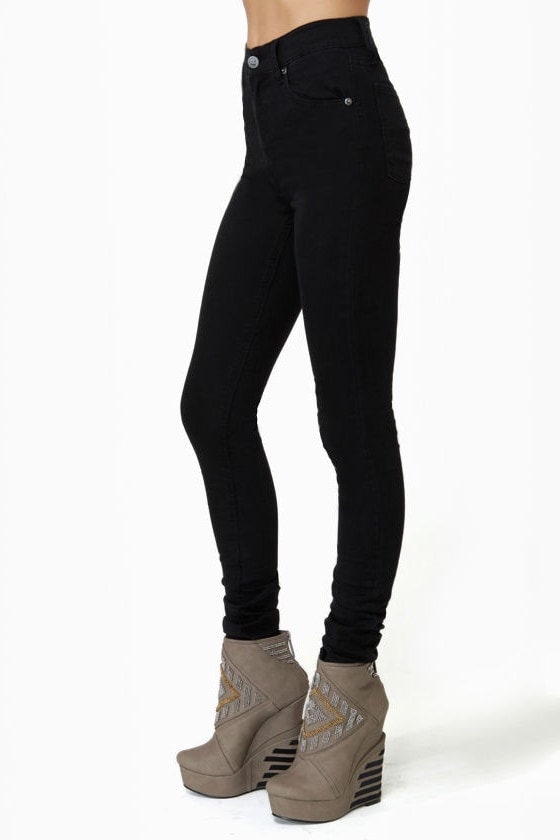 Cheap Monday Second Skin Black Skinny Pants
