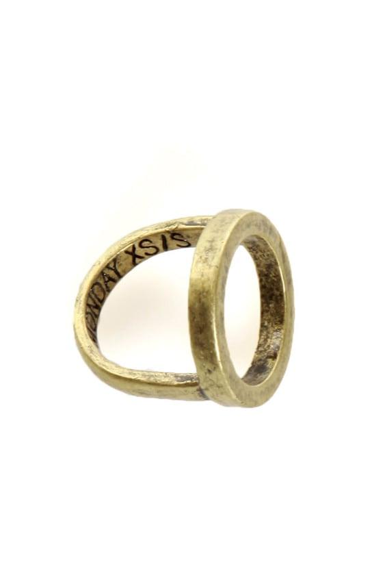cheap monday ring gold ring 17 00