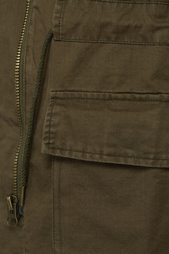 First Lieutenant Army Green Military Jacket at Lulus.com!
