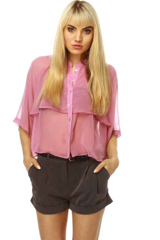 A Fine Fragrance Short Sleeve Top