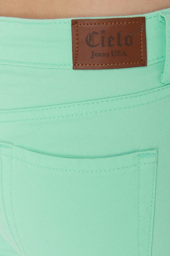 Moves Like Jagger Mint Jeggings