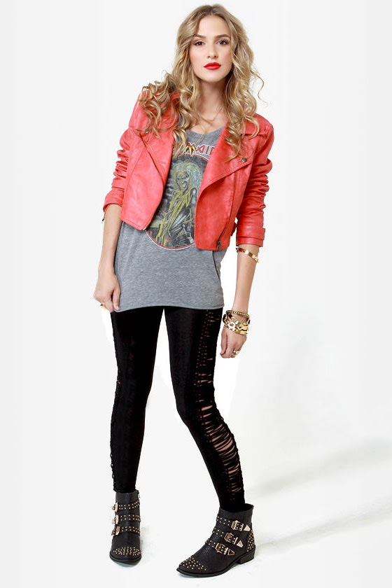 Walk the Line Black Leggings at Lulus.com!
