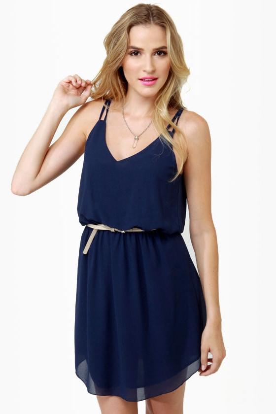 Bayside Navy Blue Dress