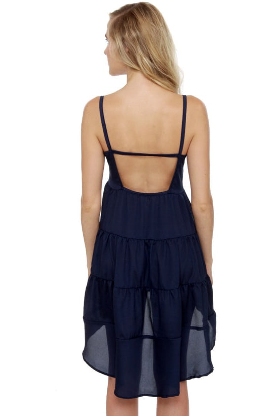 Cloud City Navy Blue Dress