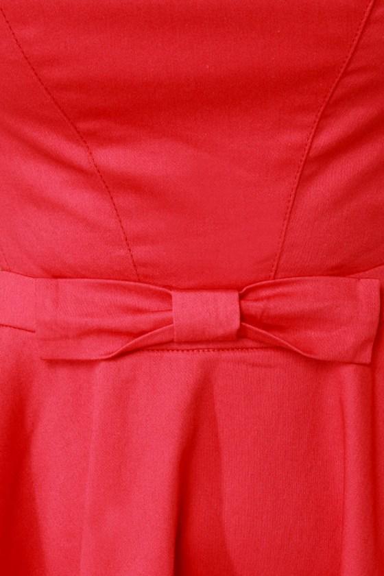 Queen of Swing Red Dress