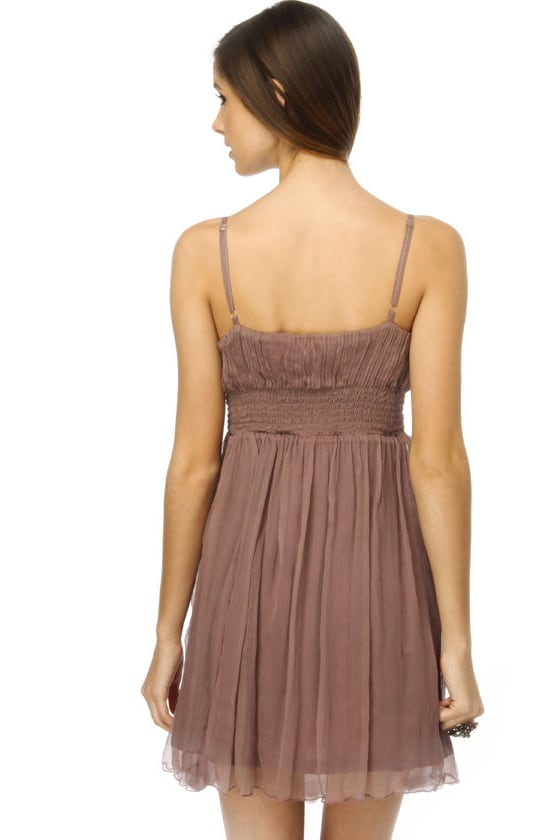 Set to Soar Lavender Silk Dress