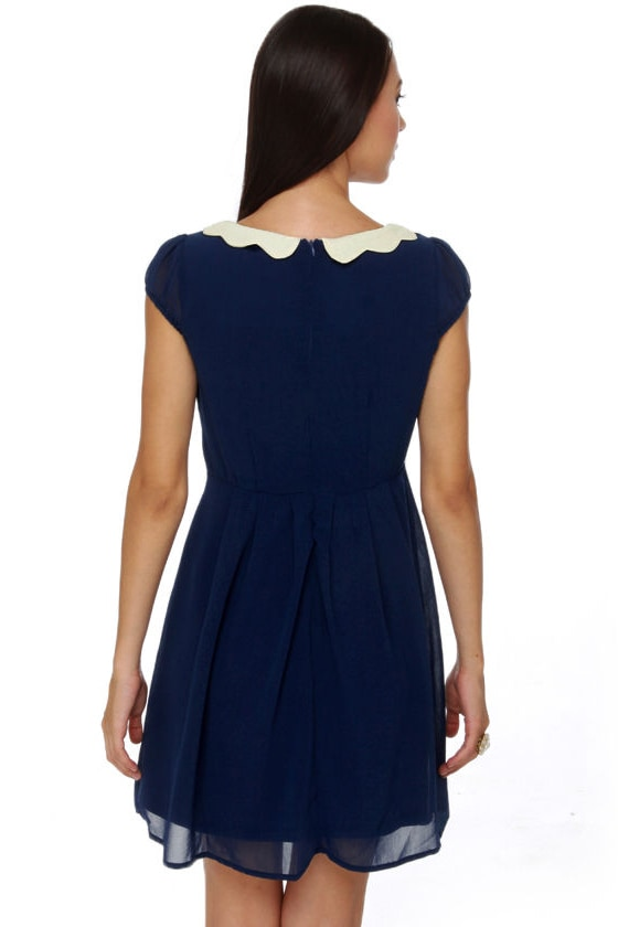 Sweet Shoppe Navy Blue Dress
