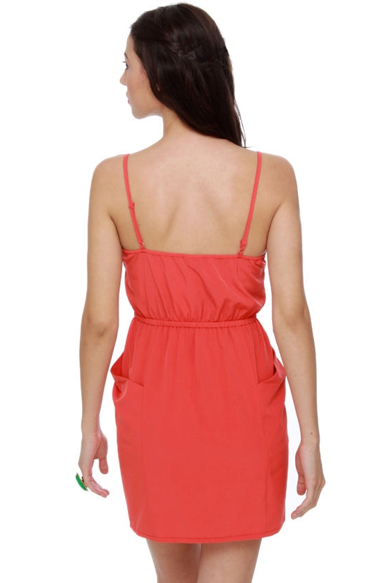 Bells of Ireland Coral Dress