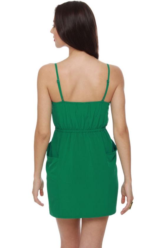 Bells of Ireland Green Dress