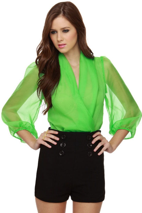 Green cat suit