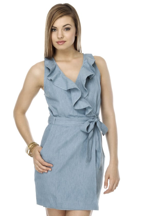Chambray Wishes Blue Dress