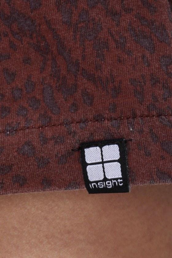 Insight Leopard Lady Cutout Tank Dress