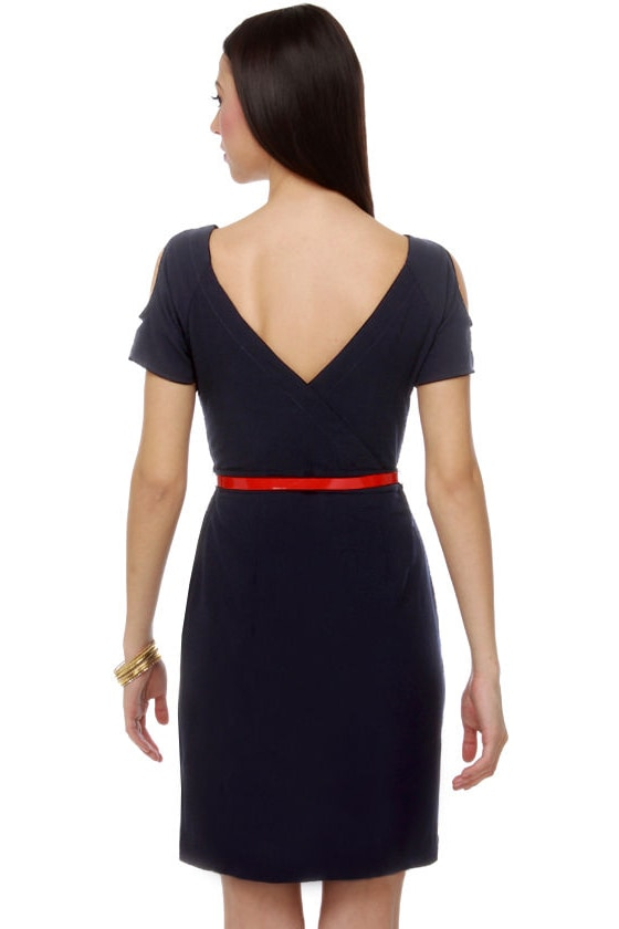 Just Like The Notebook Navy Blue Dress