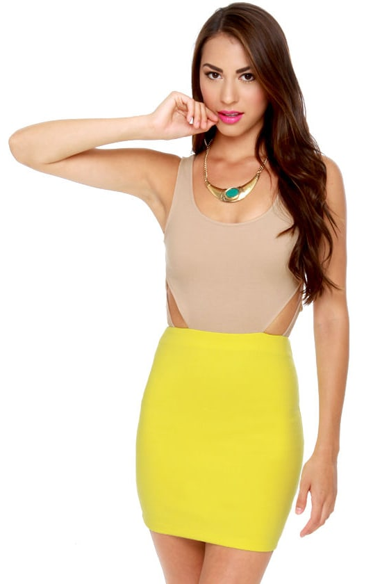 Lucca Couture Bright Me Cutout Dress