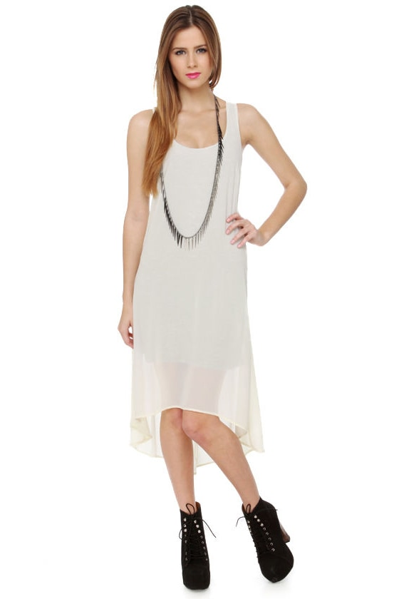 Lucca Couture Haven Cream Dress at Lulus.com!