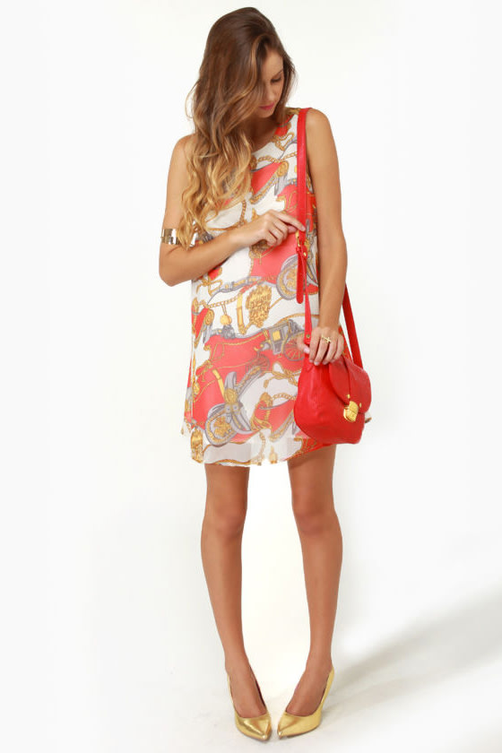 Lucca Couture Unbridled Delight Print Dress at Lulus.com!