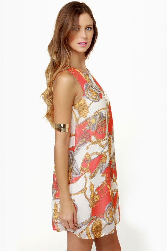 Lucca Couture Unbridled Delight Print Dress