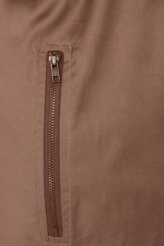 Through the Fog Brown Jacket at Lulus.com!