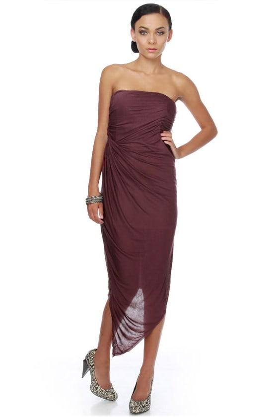 Arisen from the Sea Purple Dress