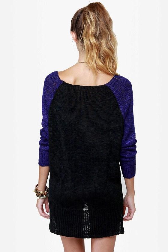 Home Run-way Color Block Sweater